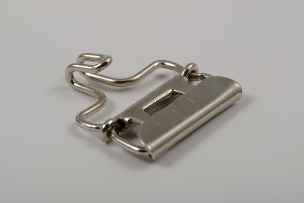 12201090 Nickel Brass Corset Buckle