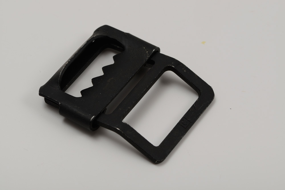 15500 Steel Webstrap Buckle Black Enamel