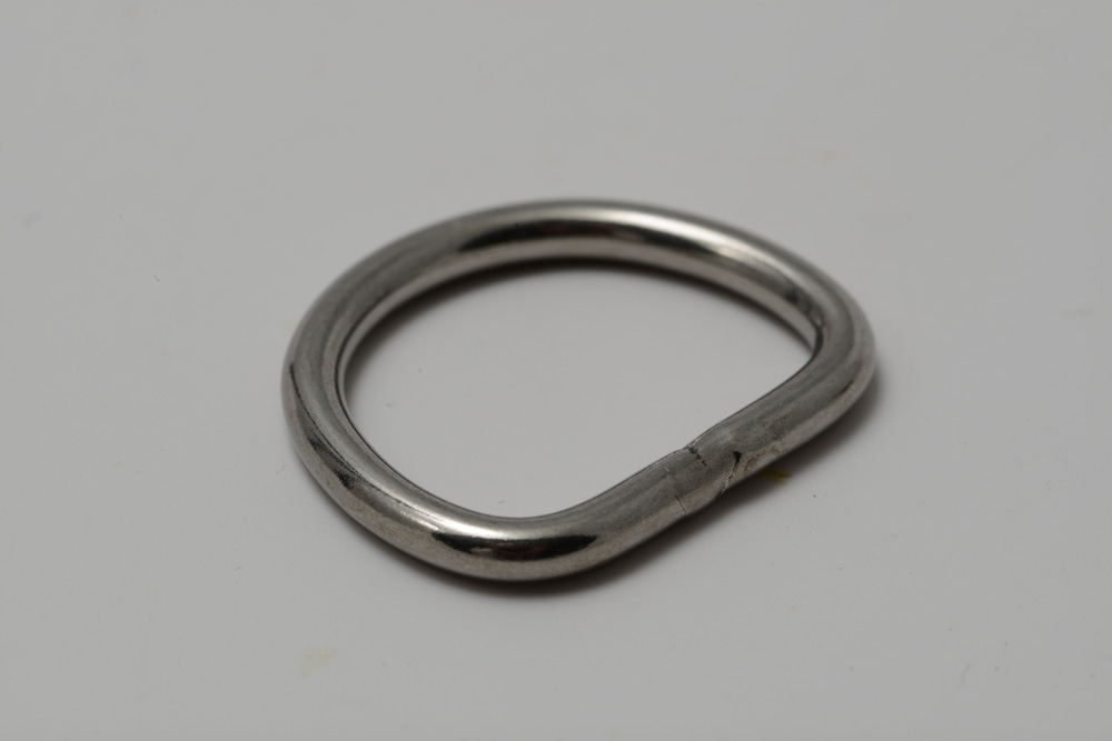 56310 stainless steel welded wire D ring