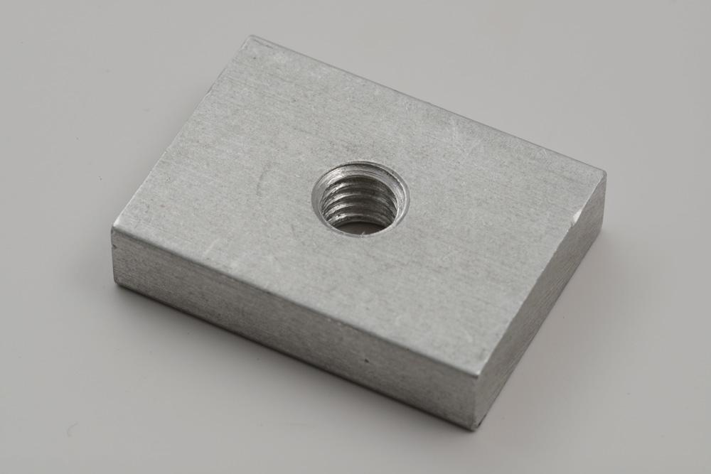 Aluminum Rectangle Nut 5010NUT